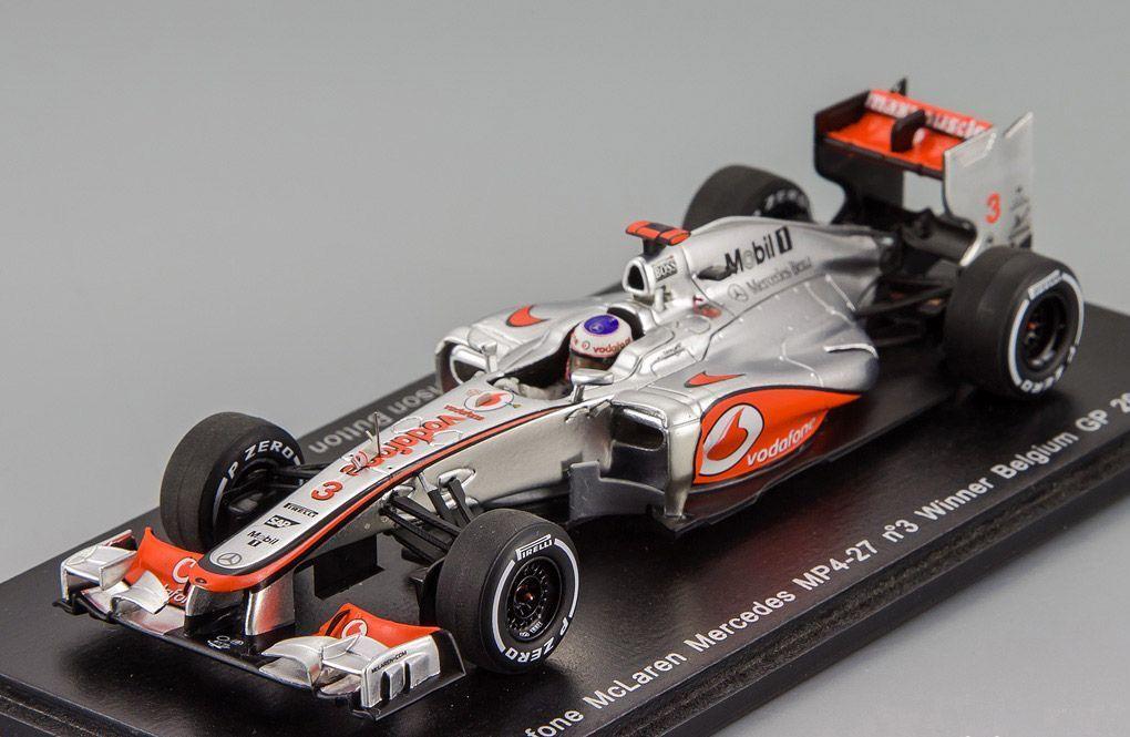 McLaren MP4-27  3 Winner Belgium GP 2012 J.Button Spark 1:43 S3046