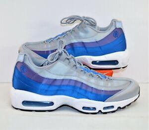 Nike-Air-Max-95-SE-Pinwheel-Blue-Purple-Grey-Running-Shoes-Sz-10-NEW-AJ2018-001