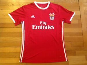 cheap for discount f0e7e 81047 Details about New Benfica Home Soccer Jersey 2019/ 2020 Men Adults XL