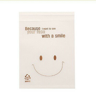 big smiley cello cellophane cookie candy treat bags self adhesive party birthday