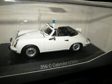 1:43 Minichamps Porsche 356 C Cabrio 1965 Polizei OVP