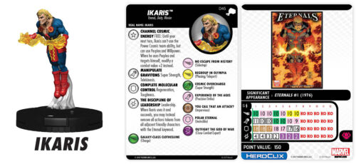 IKARIS 045 The Mighty Thor Marvel Heroclix Rare