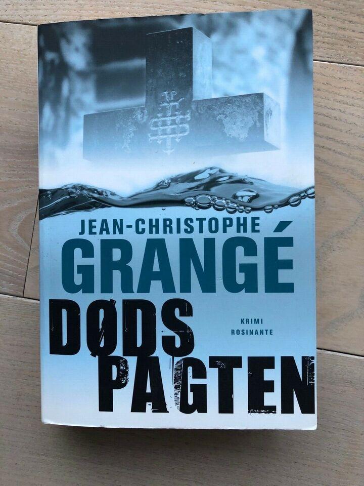 Dødspagten, Jean-Christophe Grange, genre: krimi og