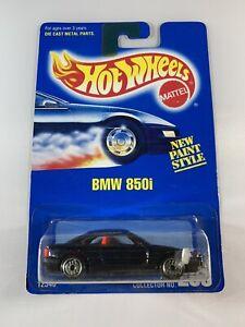 HOT-WHEELS-Vintage-Blue-Card-BMW-850i-Ultra-HOT-WHEELS-spedizione-in-scatola