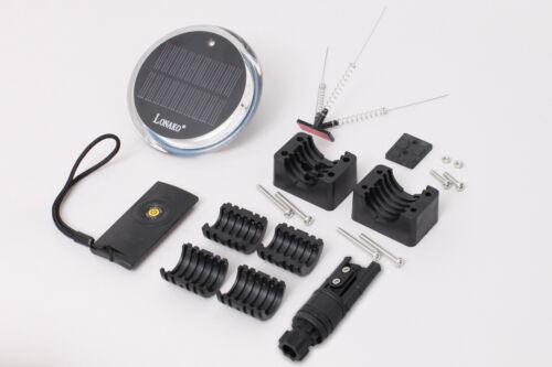 LED Rundumlicht weiß Akku Solar 1 Farbe Fernbedienung Passend für Railblaza