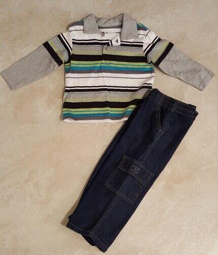 Boys Infant /& Toddler 2 Piece Sets//Outfits 18M-24M-2T-3T-4T