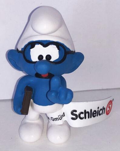 NEW Brainy with Book Smurf Figurine 20812 Plastic Figure 2019 SMURFS SET