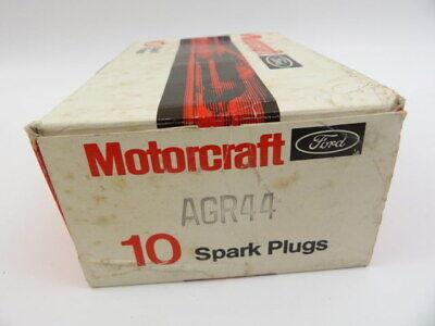 Lot of 10 Ford Motorcraft AGR44 Spark Plug Plugs