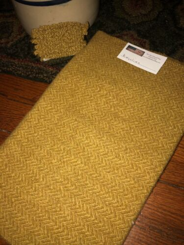 1//4 YD 100/% WOOL FOR RUG HOOKING OR WOOL APPLIQUE ~ ANGELINA
