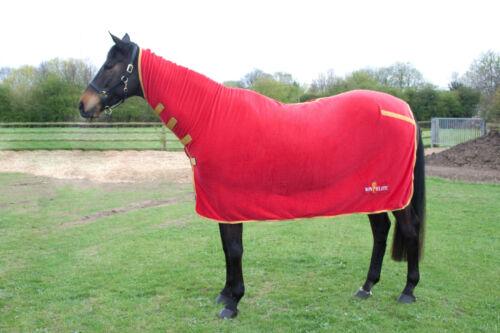 Cheval-Equitation-Polaire Complet Polaire-Rouge-plusieurs tailles disponibles