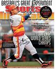 Astros Sports Illustrated ws 8x10 autographed re-print cover Photo.