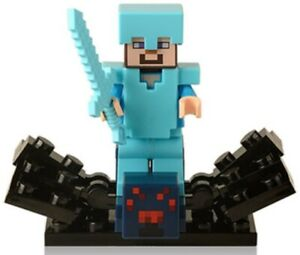 Zombie Villager Minecraft Ghost Custom Lego Mini Figure Steve Toy minifig NEW