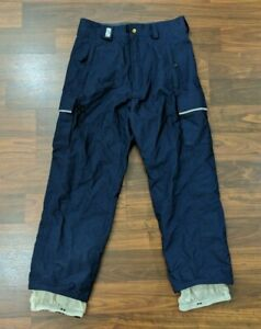 Burton-Bio-Lite-Womens-Ski-Pants-Snowboard-Winter-Blue-Size-Small