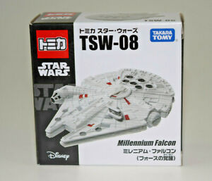 TOMICA-Star-Wars-The-Force-Awakens-Millennium-Falcon-TSW-08-Die-Cast-EP-VII-NEW