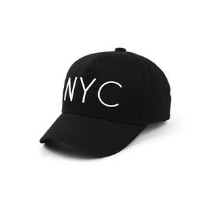Details about 52~54Cm NYC Kids Boys Girls Baseball Cap Baby Children  Snapback Hats Black