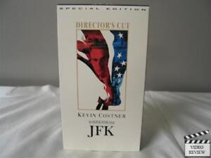 JFK (Special Edition, Director's Cut) VHS 2-Tape-Set Kevin Costner; Oliver Stone