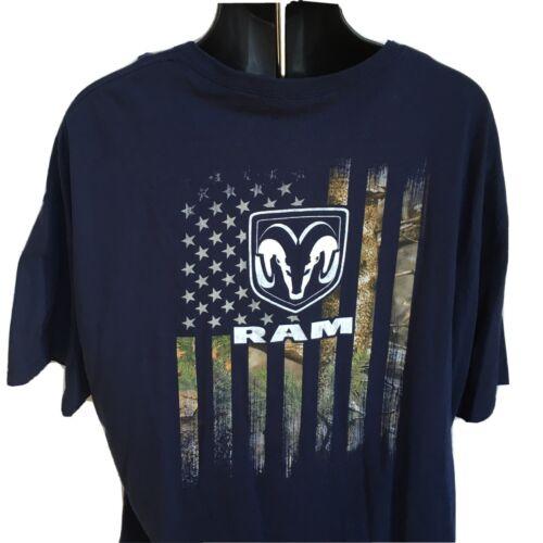 Cummins dodge t shirt distressed american flag short sleeve gear power MEDIUM