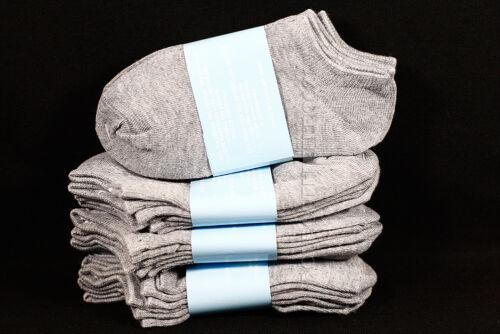 6-8 Kid/'s Boy/'s Girls Low Ankle No Show Comfort Gray Socks Cotton Spandex Junior