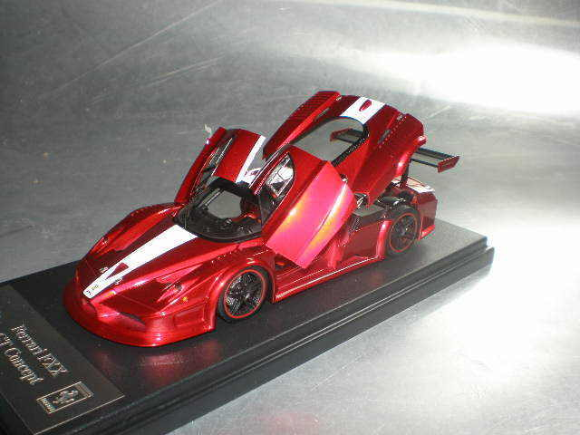 1 43 Meko FXX Concept GT F1 Rouge Avec  Blanc Strip ouvrir & fermer  livraison éclair