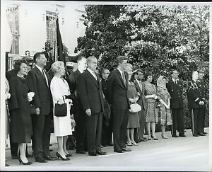Image Is Loading 1960s JOHN F KENNEDY AT WHITE HOUSE EVENT