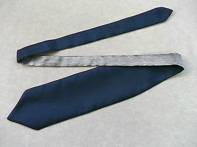 Boys Cravat Wedding Tie Formal Party One Size Single End Navy & Silver Grey Clothing, Shoes & Accessories