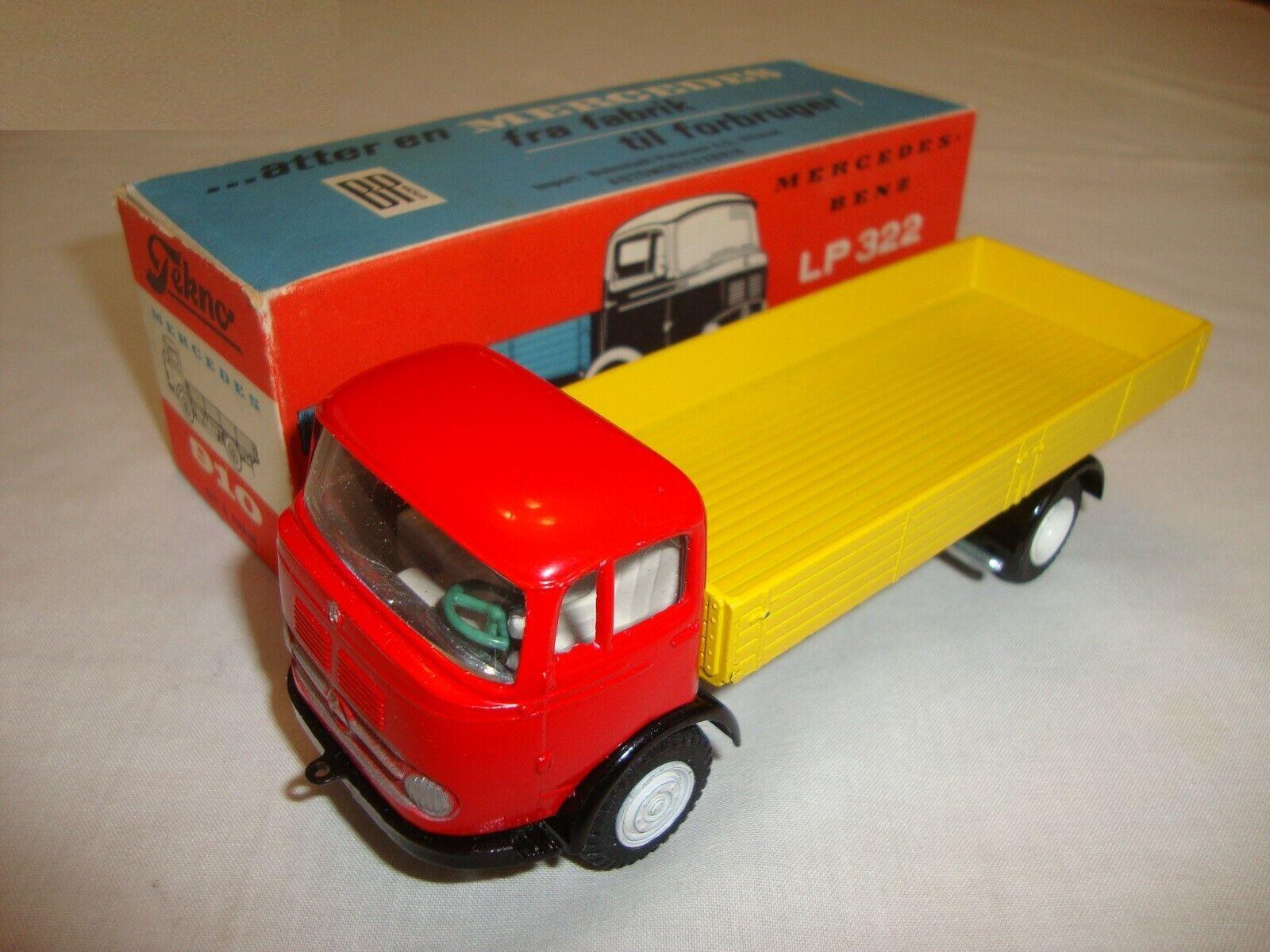 TEKNO (Danemark) 910 MERCEDES BENZ LP  322 CAMION-nr Comme neuf in original box  prix le moins cher