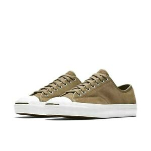 c729c732563779 NEW Men s Size 11 Converse Jack Purcell PRO OX Low Top Shoes Khaki ...