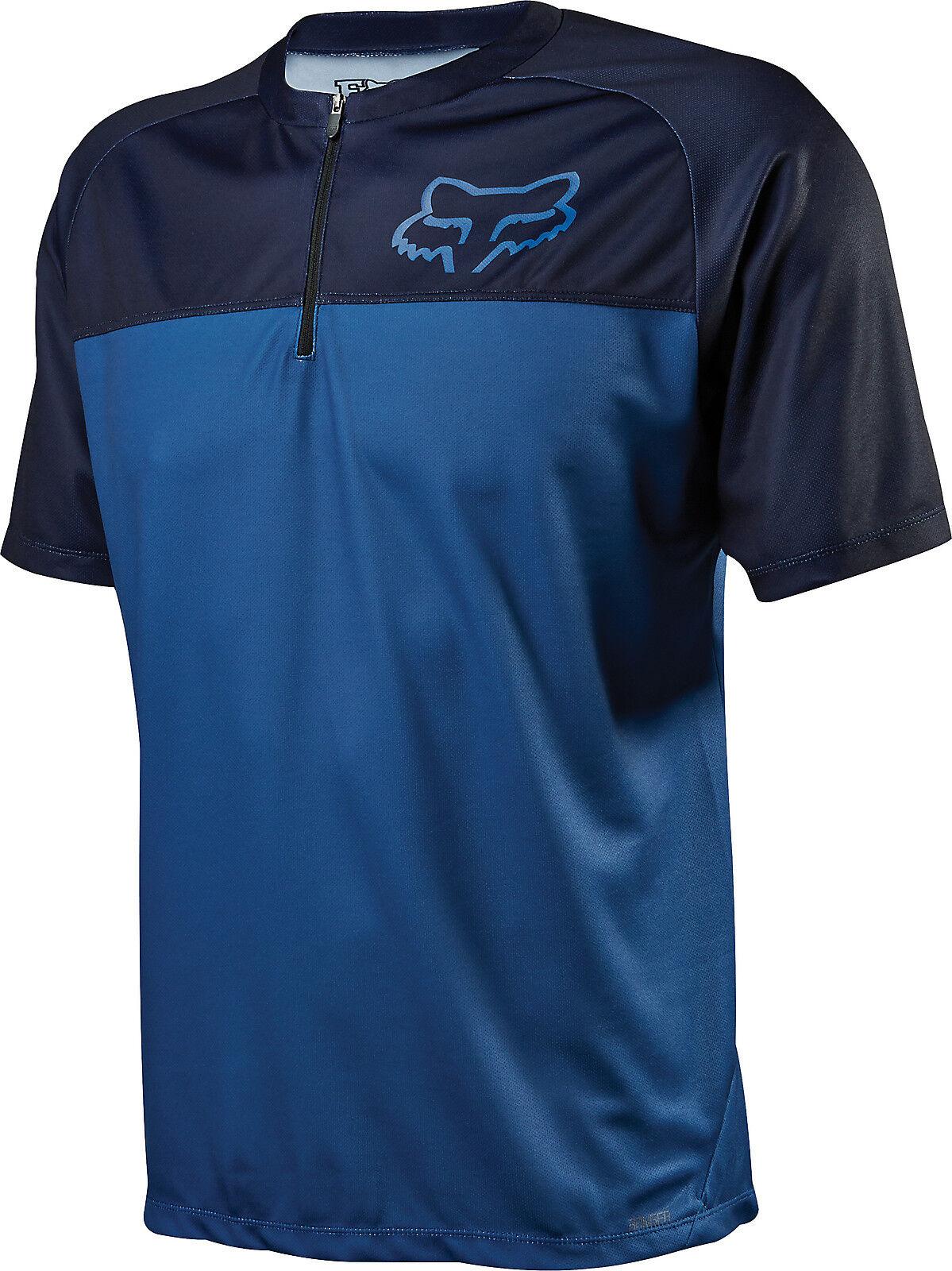 Fox Racing Ranger s/s Jersey Jersey Jersey blu be86a9