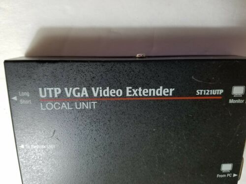 ST121UTP only one LOCAL UNIT UTP VGA Video Extender need see pictures