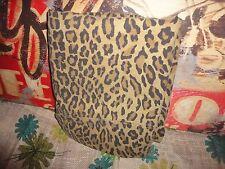 RALPH LAUREN ARAGON  BROWN TAN LEOPARD AMBER TWIN/TWIN XL FLAT SHEET ANIMAL