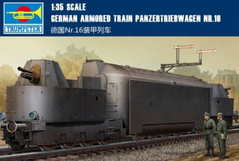◆ Trumpeter 1 35 00223 German Armored Train Panzer Triebwagen Nr.16