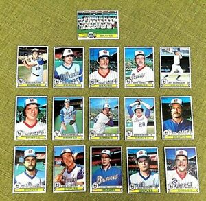 1979-TOPPS-BASEBALL-ATLANTA-BRAVES-COMPLETE-TEAM-SET-27-NIEKRO-D-MURPHY