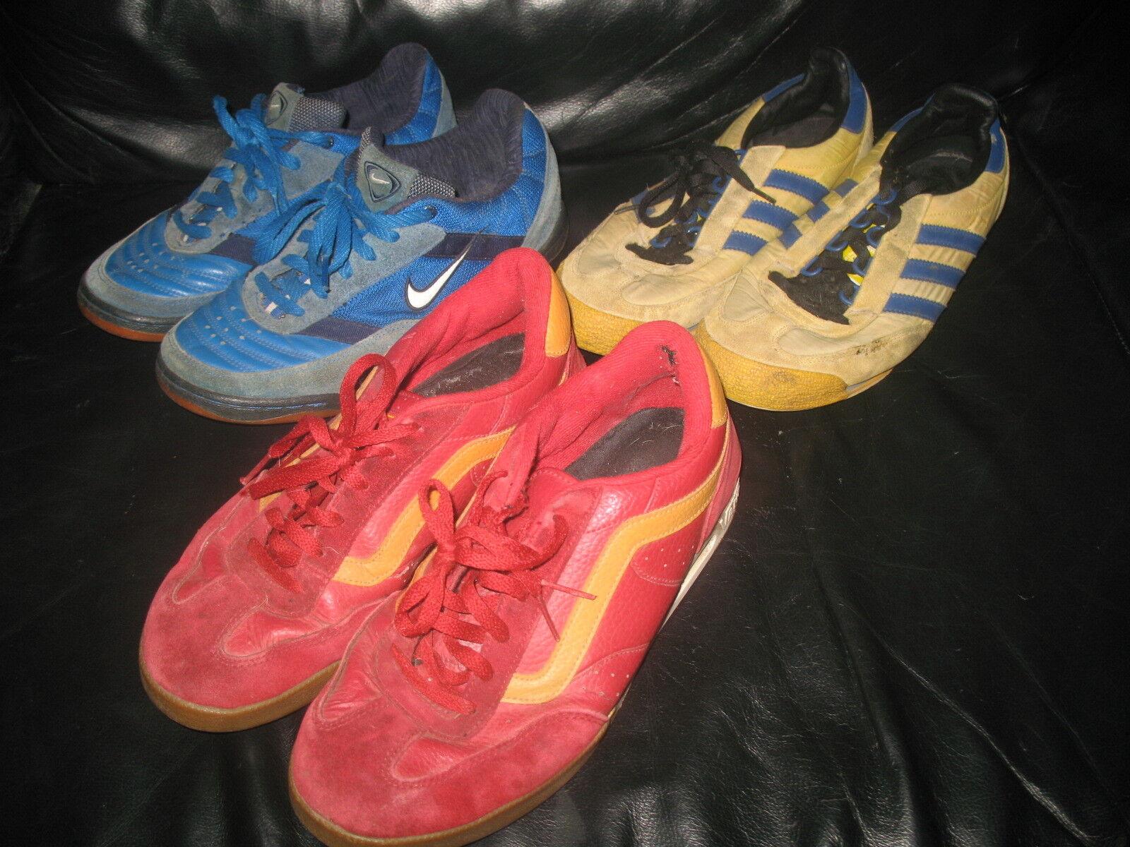 Schuhe Sneaker Herren Paket 9 Paar Gr 43-44  Nike Adidas Vans Fubu sehr getragen