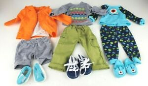 """My Life As BOY 18"""" Doll Clothes Lot of 3 Outfits - Fits American Girl BOY Dolls"""