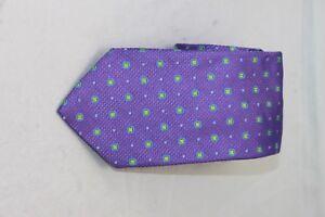 David Donahue men/'s Purple Geometric tie $115