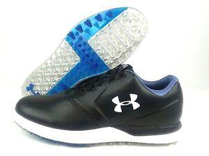 Under-Armour-Performance-Spikeless-Golf-Shoes-Black-1297177-001-Mens-Sz-10