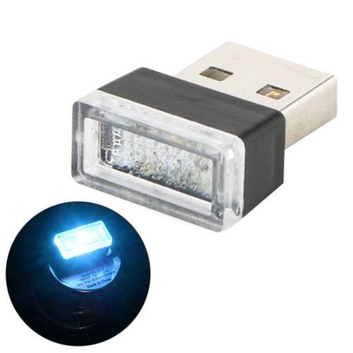 USB LED Voiture Sans Fil éclairage Intérieur Atmosphère Lumière Universelle FR
