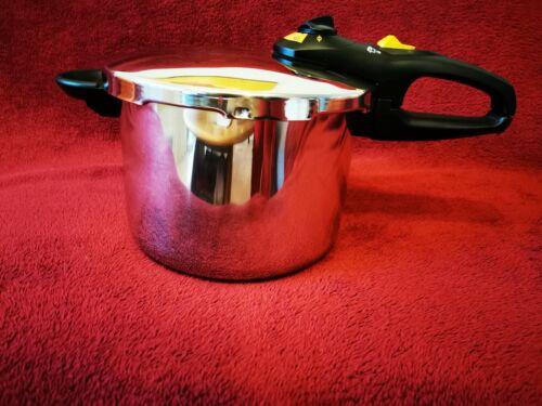 Edelstahl Schnellkochtopf 6 Liter Dampfkocher Kochtopf Schnellkocher Multikocher  ddLbm