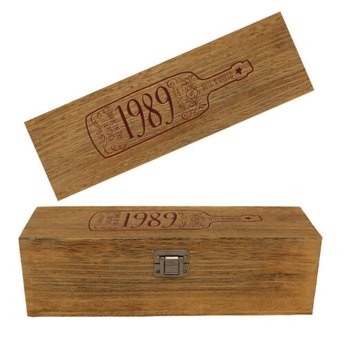 30th Birthday 1989 Gift Present Idea For Men Women Ladies Dad Mum Vintage Box