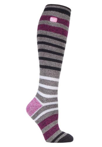 Heat Holders Long Lite Winter Warm Thermal Casual Socks 4-8uk 37-42eur 3 Colour