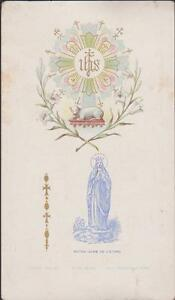 Image Pieuse Holy Card Santini-n.dame De L'etang-diocese Dijon-couronnement Nancifts-07234215-816016936