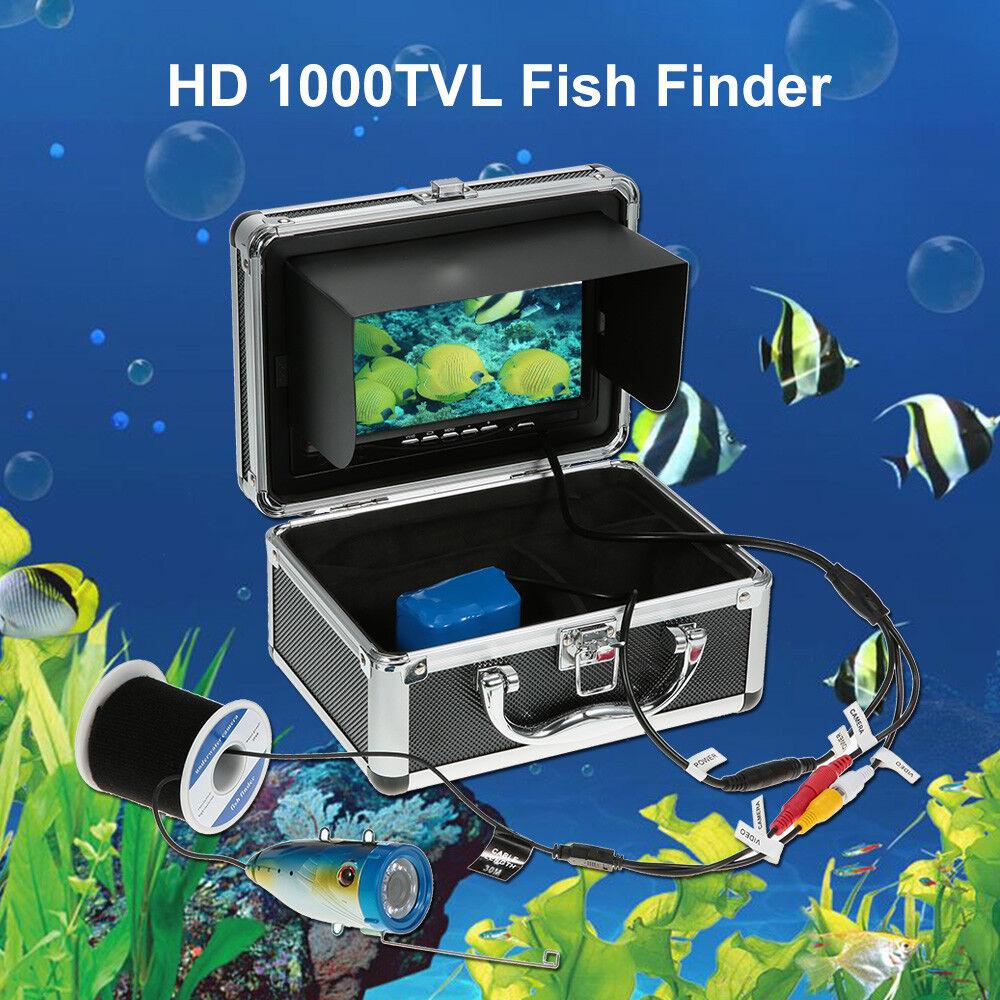 Finder Fish 7 Camera Underwater Fishing Lcd Monitor Hd Hd Hd 30m Video 1200tvl Dvr Gps 7e1864