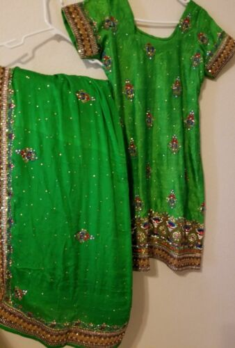 Punjabi patiala salwar suit embroidered Ethnic sti