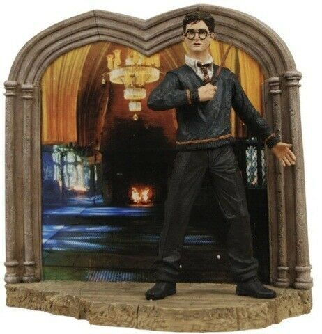 HARRY POTTER Fantasy Movie Novel 7  Polyresin Sculpted ACTION FIGURE DIORAMA New