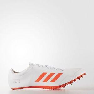 Cría Cobertizo Turbina  Adidas Adizero Prime Sprint SP Track Field Shoes White BB4117 retail $180  sz 13 | eBay