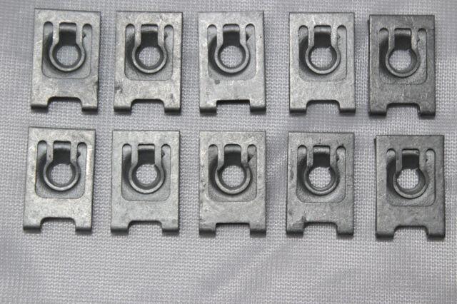 Original bmw 10 x chapa madre tuercas St 6,3-9 4 x 16 x 24 mm 1er 3er 5er 6