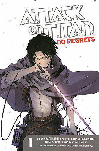 Attack On Titan : No Regrets 1 por Hikaru Suruga,Gan Sunaaku,Hajime Isayama,De