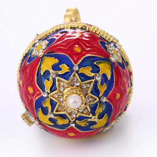 Frauen Männer Kristall Faberge Osterei Russische Königliche Schmuckschatulle