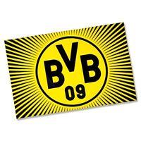 Bvb Fahne Borussia Dortmund sonne, 100 X 150 Cm Neu