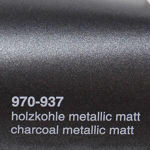 18-41-m-0-5m-x-52m-Oracal-970ra-holzkohle-MATE-Metalico-937-Pelicula-Auto